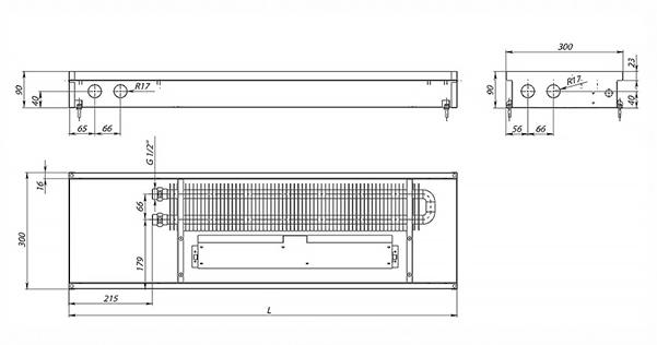 Схема конвектора Carrera SV Black 90
