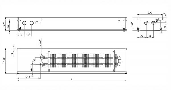Схема конвектора Carrera Black 120