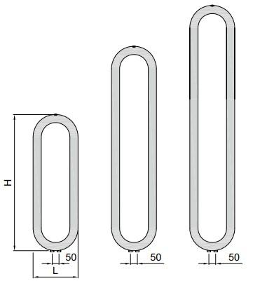 высота и длина ISAN MELODY Coron