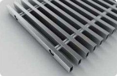 Декоративная решетка из нержавеющей стали