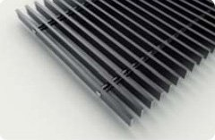 Декоративная решетка черная