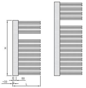 высота и длина Swingo R