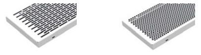 Решетки для настенного конвектора ROUND TSK