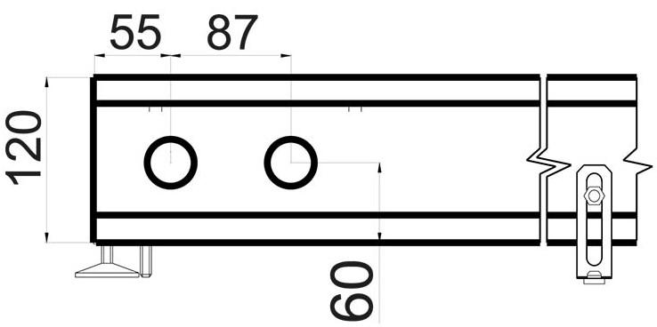 Конвектор Polvax KEM 380 - 120 схема