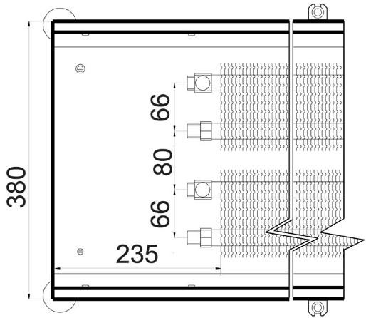 Батарея в пол Polvax KEM 380 - 120 схема