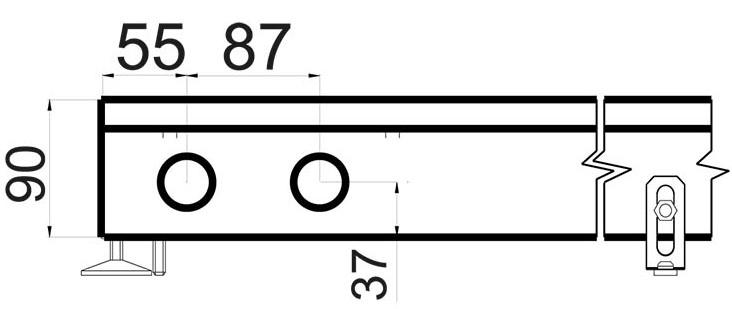 Конвектор Polvax KEM 380 - 90 схема