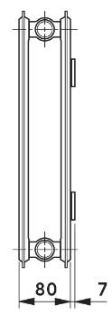 Панельный радиатор Vogel&Noot HYGIENE Compact тип 20