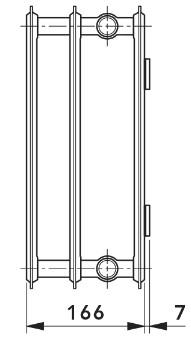 Панельный радиатор отопления Vogel&Noot HYGIENE Compact тип 30