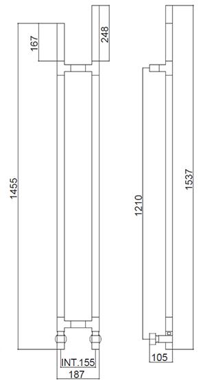 Технические сведения Arcobaleno 417 DX