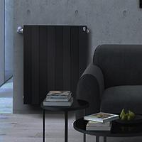Биметаллический дизайн радиатор ROYAL THERMO Piano Forte Noir Sable