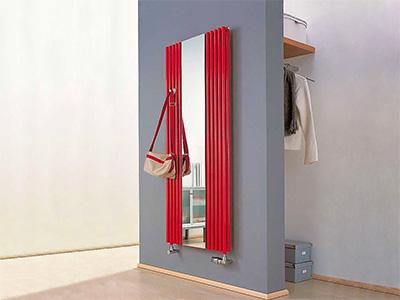 дизайнерские радиаторы с зеркалами