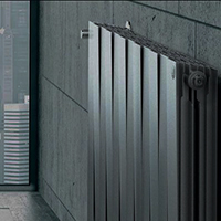 Биметаллический дизайн радиатор ROYAL THERMO Piano Forte TOWER Silver Satin
