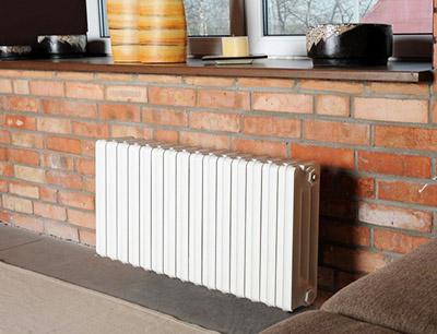 радиатор в стиле лофт